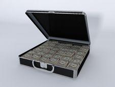 Money Briefcase Small Vault Stock Photos