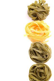 Free Tagliatelle Paglia E Fieno Homemade Tipycal Stock Images - 31718674