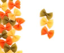 Free A Composition Of Different Pasta In Three Colors. Royalty Free Stock Image - 31718746