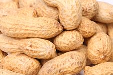 Free Close-up Of Some Peanuts. Background Stock Images - 31718854
