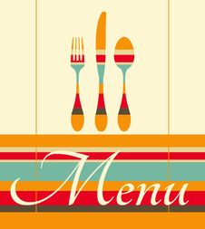 Free Restaurant Menu Illustration Stock Photo - 31719690