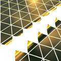 Free Golden Triangles Background Stock Photos - 31721233