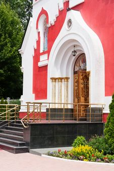 Free Church Orthodox Entrance Royalty Free Stock Image - 31720326