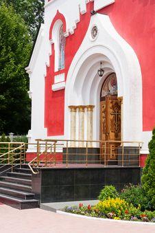 Free Church Orthodox Entrance Royalty Free Stock Image - 31720326