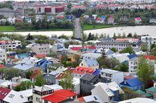 Free Reykjavik Cityscape Stock Images - 31721174