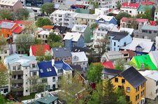 Free Reykjavik Cityscape Royalty Free Stock Photos - 31721218