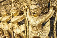 Free Golden Garuda Stock Photo - 31721300