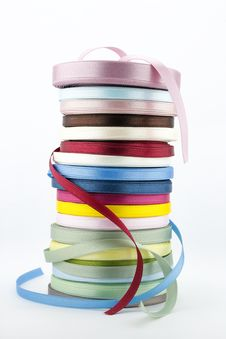 Free Colorful Ribbons Stock Photo - 31730060