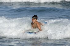 Free Surfer Boy Royalty Free Stock Images - 31732649