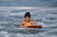 Free Surfer Boy Royalty Free Stock Image - 31732756