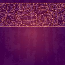 Free Vintage Invitation Card On Grunge Background. Stock Photos - 31732843