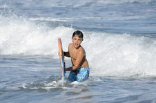 Free Surfer Boy Stock Images - 31733064