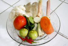 Free Components Thai Tomyam Food Stock Images - 31734684