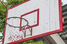 Free Basketball Hoop Royalty Free Stock Photography - 31736297