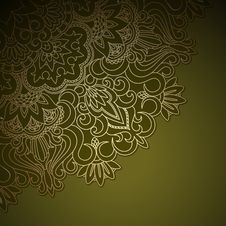 Free Vector Gold Ornament. Stock Image - 31743971