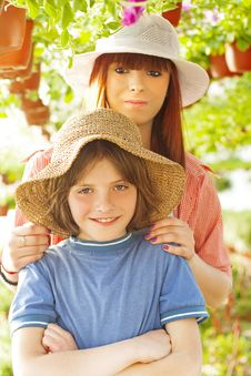 Young Farmers Royalty Free Stock Photo