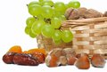 Free Dried Fruits And Grapes Stock Photos - 31750343
