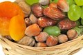 Free Dried Fruits And Grapes Stock Images - 31750444
