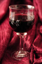 Free Red Wine In Crystal Glass Stock Photo - 31755490