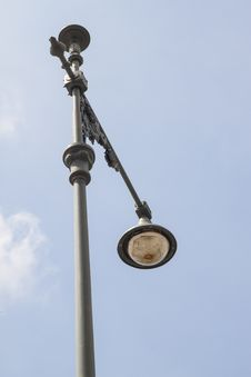 Free Decorated Light Pole Royalty Free Stock Photo - 31750535