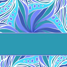 Blue Pattern With Stripe Royalty Free Stock Photos