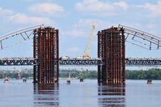 Free Bridge Construction Royalty Free Stock Photos - 31752198