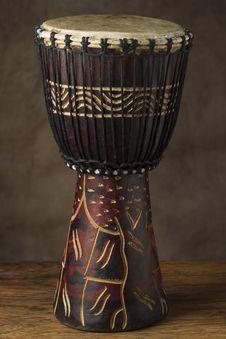 African Hand Drum Stock Image