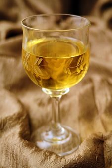 Free Wine In Crystal Glass Royalty Free Stock Photo - 31755475