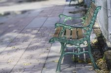 Free Bench In The Park Stock Image - 31755541