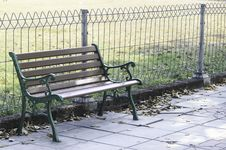 Free Bench In The Park Stock Photography - 31755742
