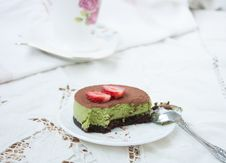 Free Delicious Dessert - Cake Tiramissu. Royalty Free Stock Images - 31757179