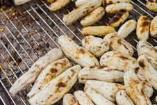 Free Grilled Cassava Stock Photo - 31760080