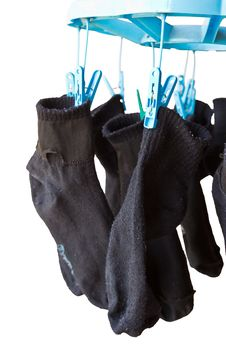 Free Laundry Washing Socks Royalty Free Stock Photos - 31761038