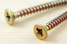 Free Macro Photo Of Screws Stock Photography - 31761992