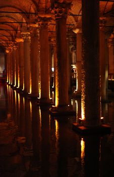 Free Basilica Cistern, Istanbul Royalty Free Stock Photography - 31762697
