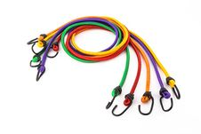 Free Colorful Rubber Rope With Hook Stock Photo - 31764840