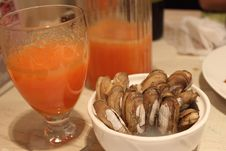 Free Hawthorn Juice And Clam Stock Images - 31765114