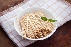 Free Toothpicks Stock Photo - 31765770