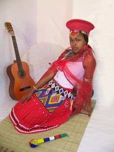 Free Zulu Bride Stock Image - 31767951