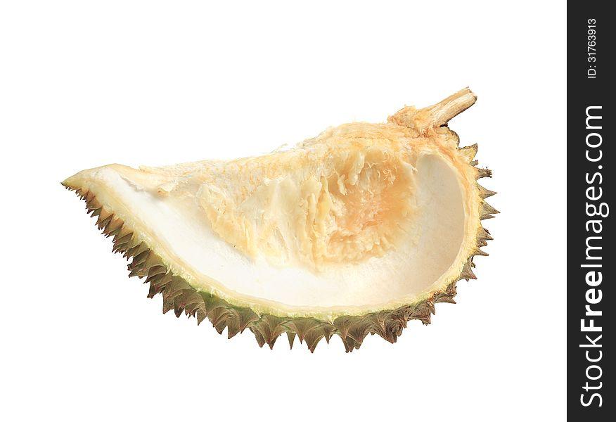 Durian fruit shell