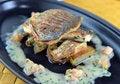 Free Grilled Dorado With Potatoesl Royalty Free Stock Image - 31774396