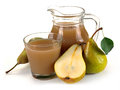 Free Pear Juice And Fruit Royalty Free Stock Photo - 31775845