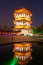 Free The Tower Night Xian Stock Images - 31779714