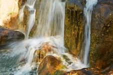 Free The Waterfall Landscape Xian Royalty Free Stock Photo - 31777025