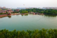 The Lake Landscape Xian Stock Photography
