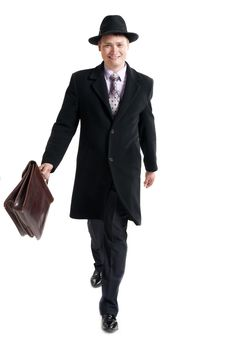 Free Businessman With The Diplomat Stock Photos - 31779623