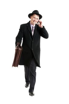 Free Businessman With The Diplomat Stock Photo - 31779630