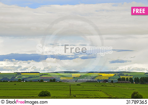 Free Landscape, Dornoch Firth Royalty Free Stock Photo - 31789365