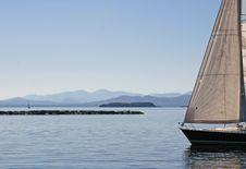 Free Sailboat Landscape Stock Images - 31781124
