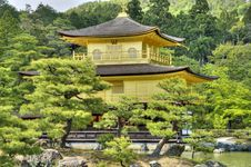 Free Kinkaku-ji Golden Temple, Kyoto Stock Photos - 31784153